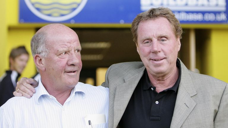 Smith with Harry Redknapp in 2006