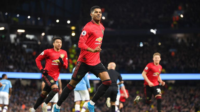 Goalscorer Marcus Rashford said it was 'not good enough' that abuse was still happening in football
