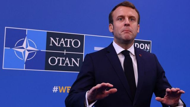 French President Emmanuel Macron has defended his comment that NATO was experiencing 'brain death'