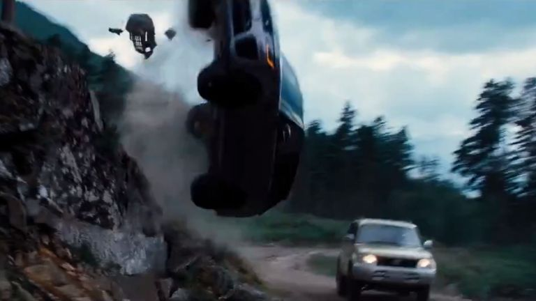 Car chases will, of course, feature in the new film. Pic: MGM