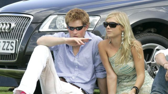 EGHAM, UNITED KINGDOM - JULY 30: Prince Harry and his girlfriend Chelsy Davy attend the Cartier International Polo match at the Guards Polo Club on 30 July, 2006 in Egham, England. (Photo by MJ Kim/Getty Images)