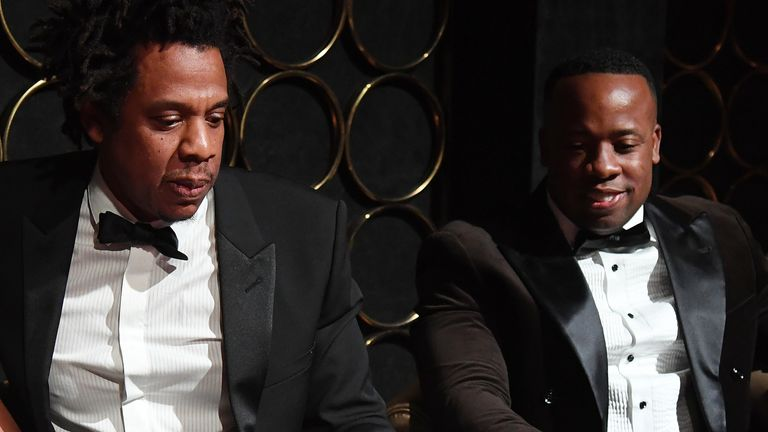 Jay-Z and Yo Gotti in November 2019