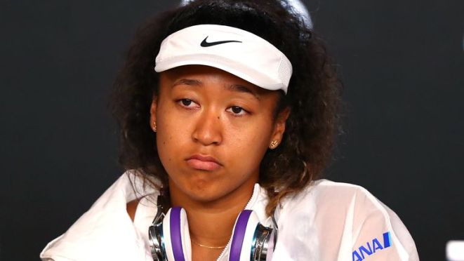 Naomi Osaka didn't like losing to someone younger than her