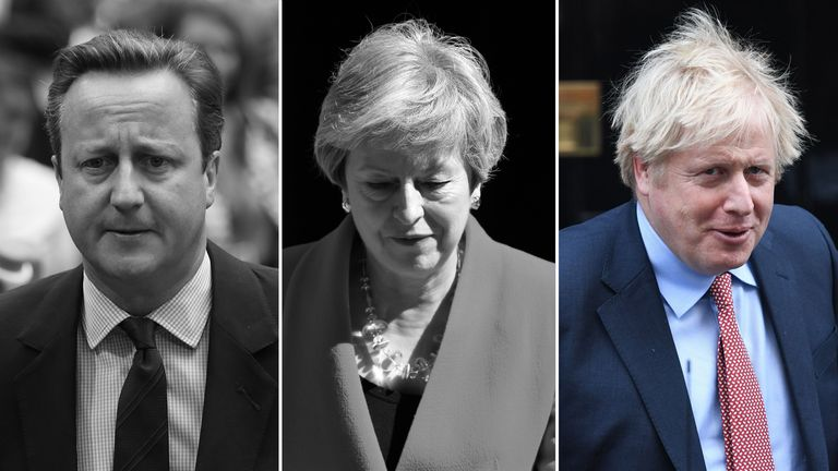 The UK has had three prime ministers since the vote for Brexit in 2016
