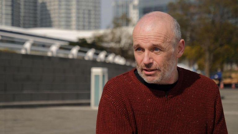 艾倫·斯蒂爾(Alan Steel),仍然是冠狀病毒倖存者