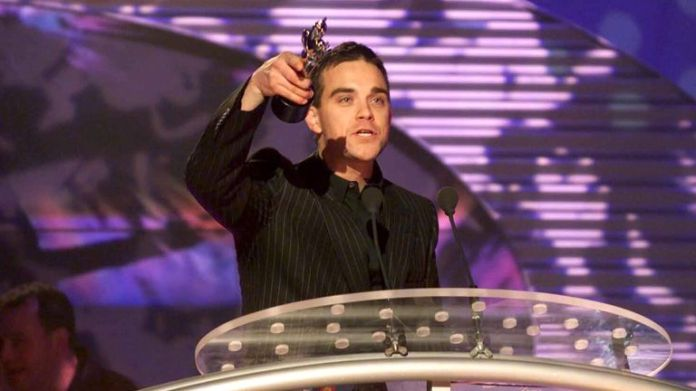 Robbie Williams in 2000. Photo: Richard Young / Shutterstock