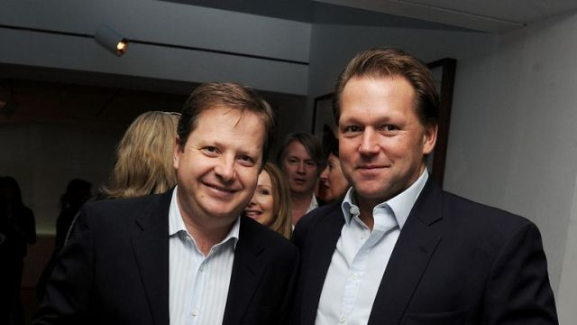 Carphone Warehouse was founded by Charles Dunstone (left) and David Ross (right)