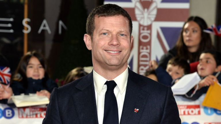 Dermot O'Leary presents The X Factor and Britain's Got Talent