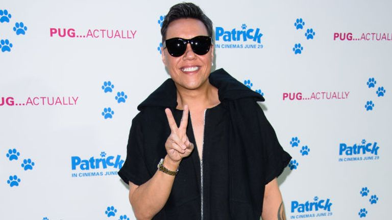 Gok Wan is also a TV personality