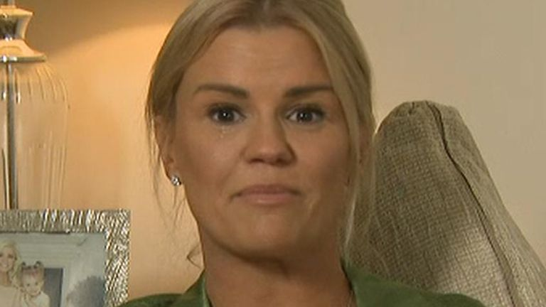 Former singer Kerry Katona hits out at social media users over death of Caroline Flack