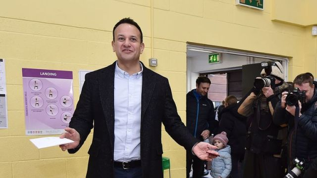 Leo Varadkar was tipped to suffer major losses in the election
