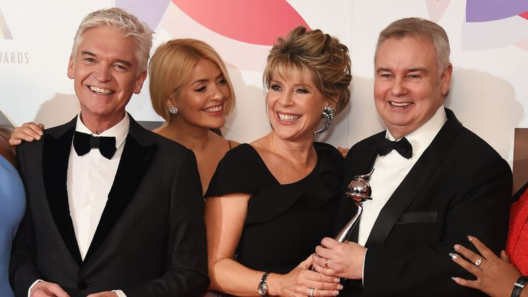 This Morning presenters Schofield, Willoughby,  Langsford and Holmes