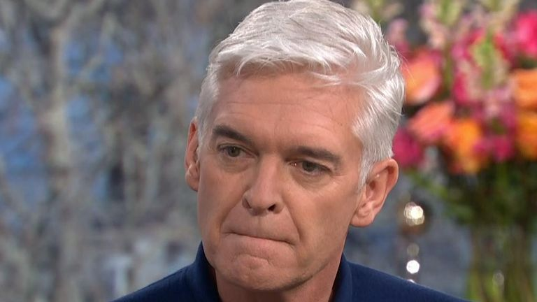 Phillip Schofield has been married for 27 years