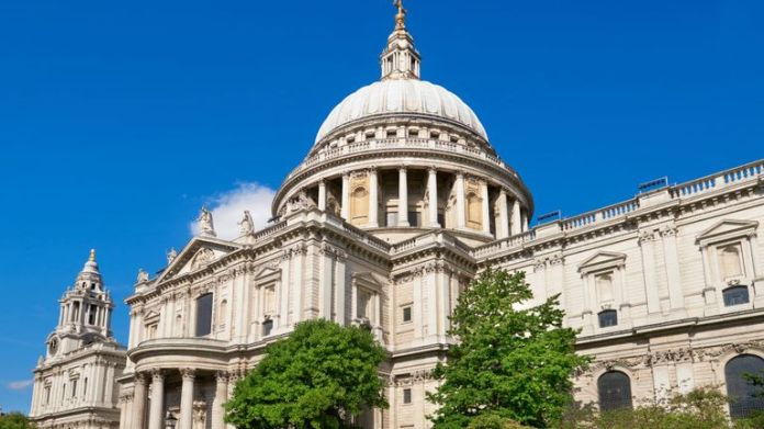 Shaikh went on a reconnaissance trip to St Paul's Cathedral