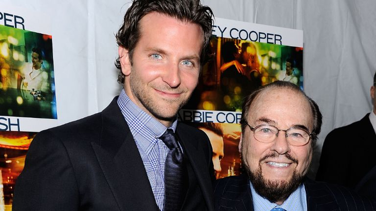 """Actor Bradley Cooper and James Lipton attend the premiere of """"Limitless"""" at the Regal Union Square on March 8, 2011 in New York City."""