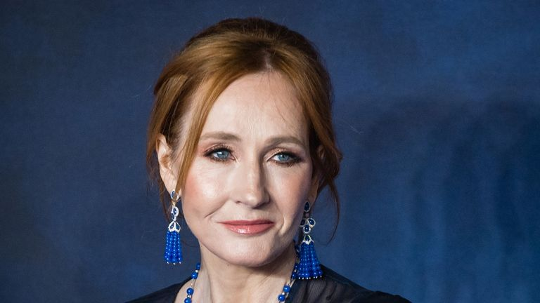 """LONDON, ENGLAND - NOVEMBER 13:  J.K Rowling attends the UK Premiere of """"Fantastic Beasts: The Crimes Of Grindelwald"""" at Cineworld Leicester Square on November 13, 2018 in London, England.  (Photo by Samir Hussein/WireImage)"""