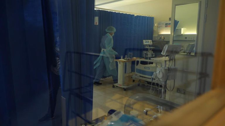 Croydon University Hospital is one of the worst-affected healthcare facilities in London