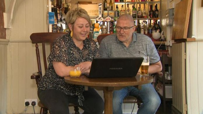 Discussions are now taking place online - rather than at the pub