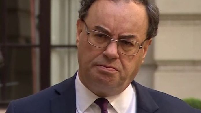 Andrew Bailey thinks the economy could recover quite quickly