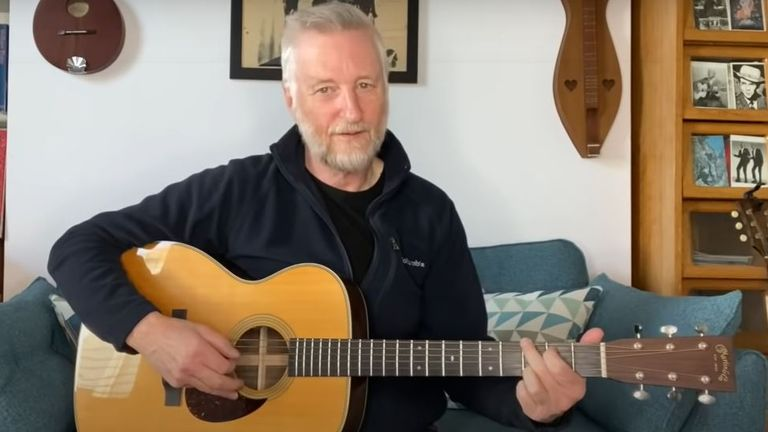 Billy Bragg is taking part in the Covers For Others fundraiser for the RCN's Covid-19 support fund