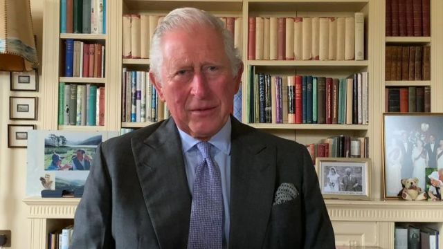 Prince Charles pays tribute to the people of the United Kingdom who have suffered throughout the COVID-19 pandemic