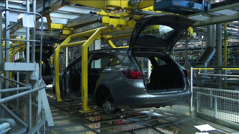 Production at Ellesmere Port has been shut down since 16 March