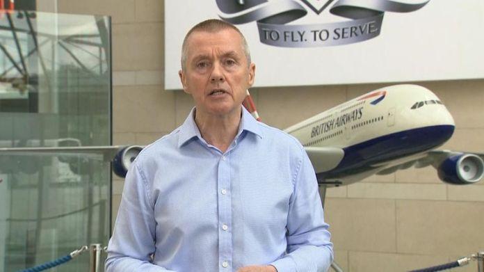British Airways, Chief Exec Willie Walsh