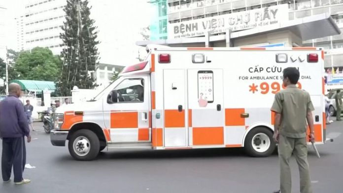Ambulance took 42-year-old man to airport