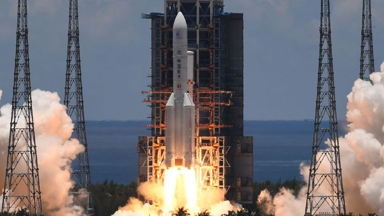 Tianwen-1 was successfully launched from Hainan Island off the south coast of China