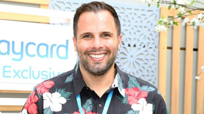 Dan Wootton attends the Barclaycard Exclusive Area at Barclaycard Presents British Summer Time Hyde Park at Hyde Park on July 14, 2019