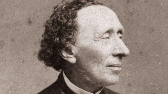 Hans Christian Andersen in around 1870