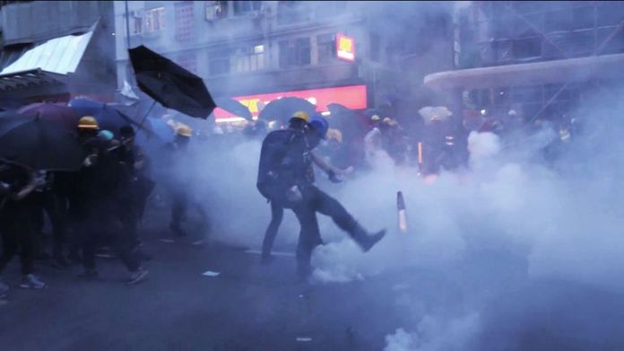 Hong Kong Protests Security Law