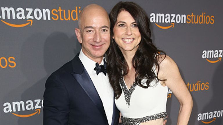 Mackenzie Scott: Ex-wife of Jeff Bezos gives over £3bn to charity in four  months   US News   Sky News