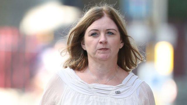 Deborah Adlam, the mother of PC Andrew Harper