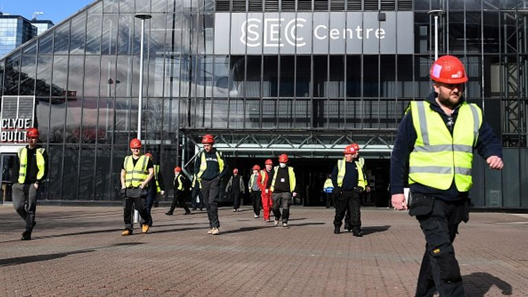 World leaders' gathering at the SEC in Glasgow was pushed back a year to November 2021