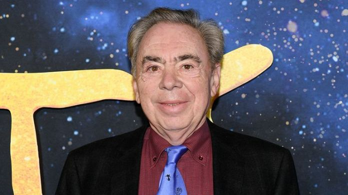 Andrew Lloyd Webber attends the Cats World Premiere