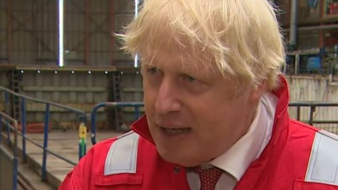 Boris Johnson unhappy with suggestions that BBC could cut lyrics to Last Night Of The Proms songs