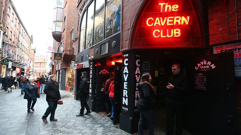 People from all over the world come to visit The Cavern Club in Liverpool