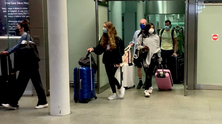People have scrambled back to the UK as the restrictions were introduced