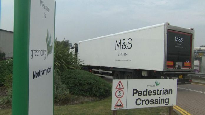 Greencore factory makes sandwiches for M&S