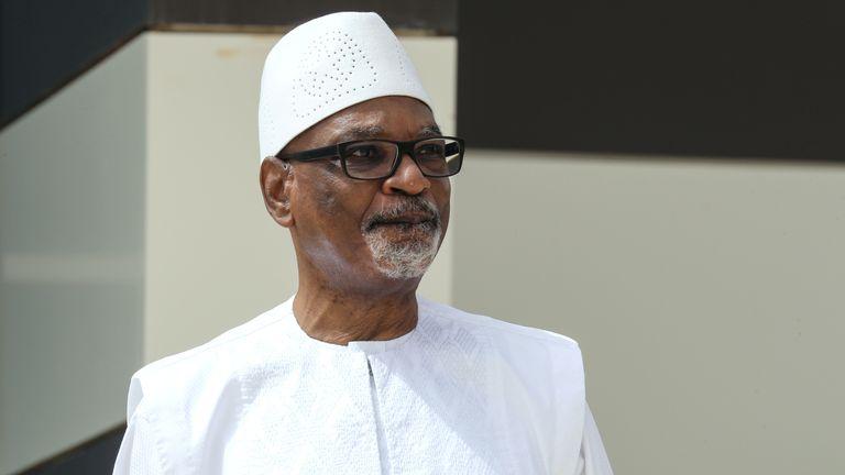 Mali President Ibrahim Boubacar Keita was arrested by mutinous soldiers