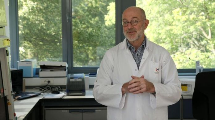 Pierre van Damme is leading the work on a vaccine