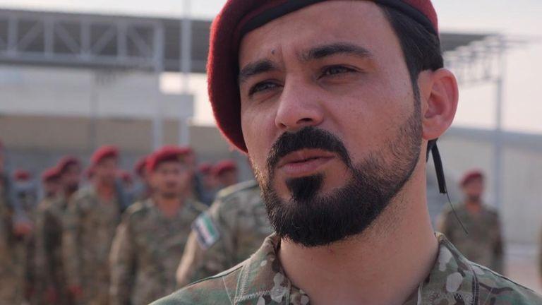 Commander Saif Abu Baker of Al Hamza Divison