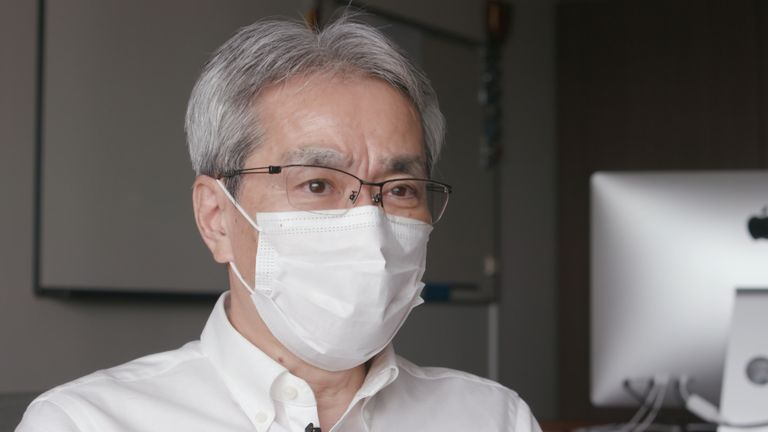Professor Yoshiharu Matsuura wants a vaccine in place for the Olympics