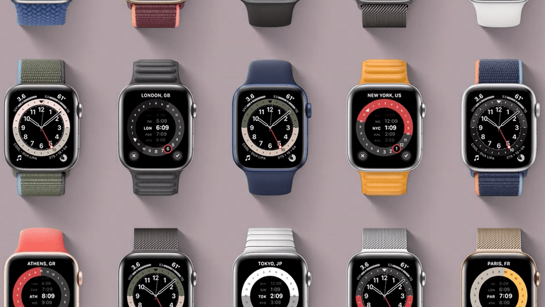 Health features are a major part of the new Apple Watch. Pic: Apple