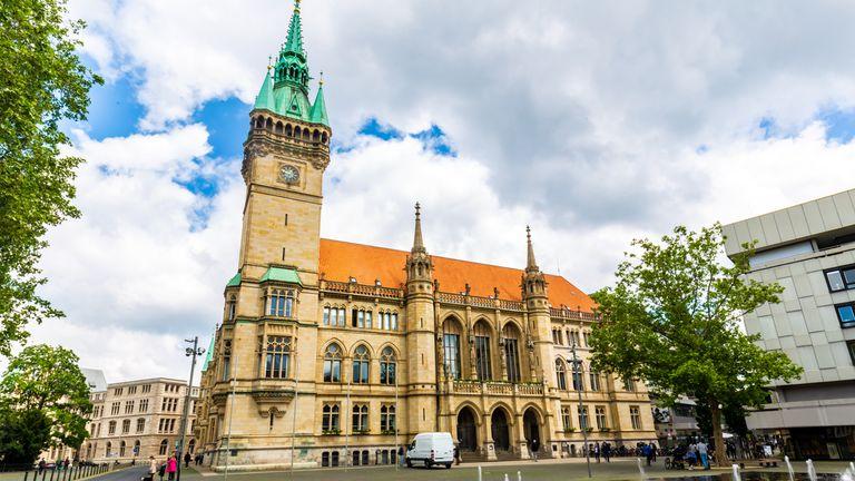 Braunschweig city hall, Germany