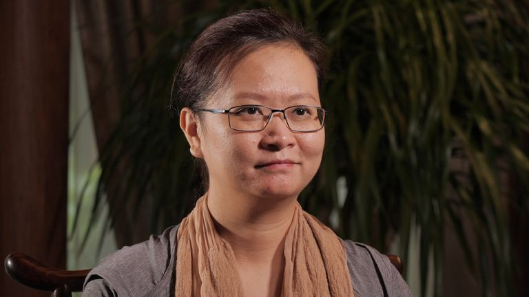 Sabrina Li is the founder and chief executive of biotech company Coyote