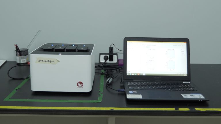 A Chinese company has developed a new 30-minute COVID test