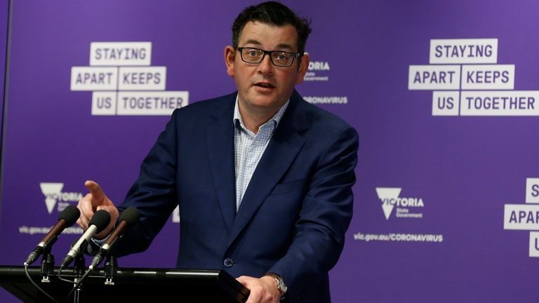 Victoria state premier Daniel Andrews says the numbers are a 'cause for great optimism'