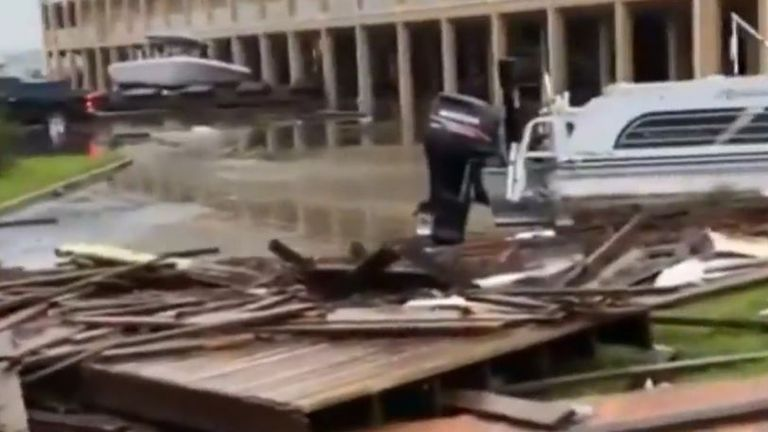 Hurricane Sally tears across Alabama